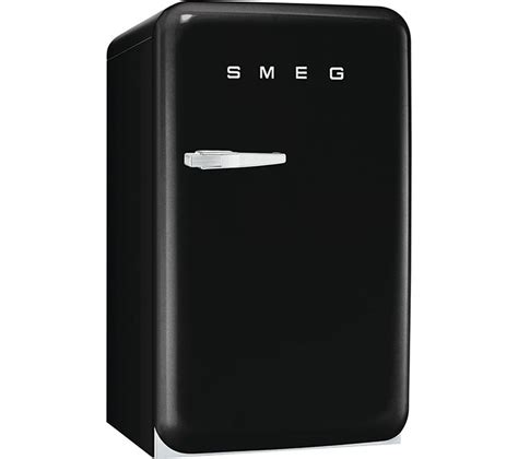 mini fridge and buy smeg fab10rne mini fridge black free delivery currys