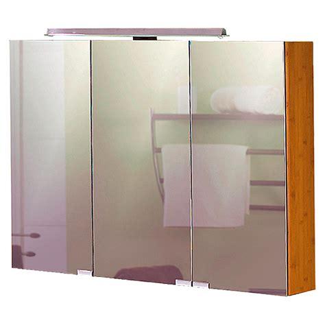 spiegelschrank bambus schildmeyer topline bambus led spiegelschrank sps 900 16
