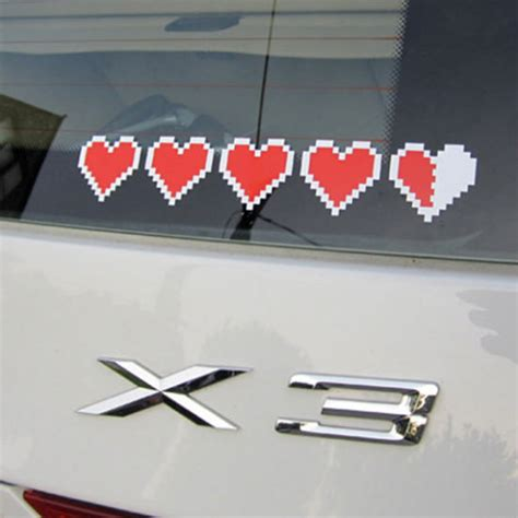 Zelda Auto Sticker by Zelda Heart Container Stickers