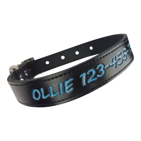 personalized collars premium personalized collar colors custom engraved name id ebay