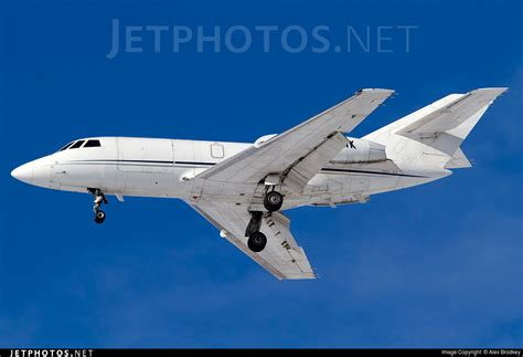 n20wk dassault falcon 20f royal air freight alex brodkey jetphotos