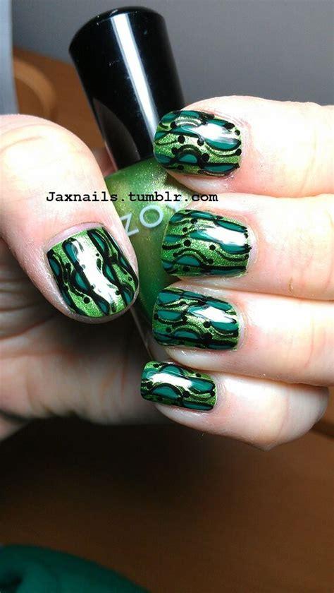 imagenes de uñas decoradas verde agua fotos decoracion de u 241 as color verde bonitas pinterest