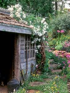 The Flower Shed by Rustic Shed Garden Sheds Benches And More Oh