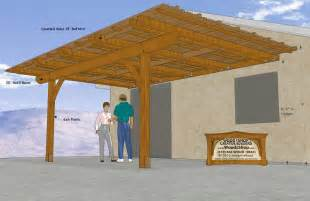 plans patio cover - Wood Patio Cover Plans