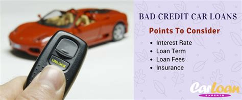 car loans for bad credit important points about bad credit car loan car loan experts