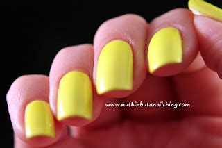 Neon Nails From Barry M by Nuthin But A Nail Thing Barry M Neon Yellow And Neon Green