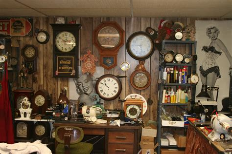 clock shop repairing antique clocks from the carolina bed and