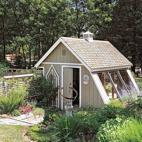 greenhouse shed plans gardens backyards and glass panels on pinterest