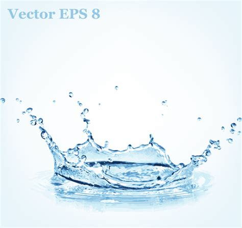 water layout vector light blue water drops background free vector download