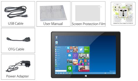 windows 10 on android tablet 10 1 inch hd tablet pc with windows 10 and android 5 1 system 2gb ram otg 8000mah