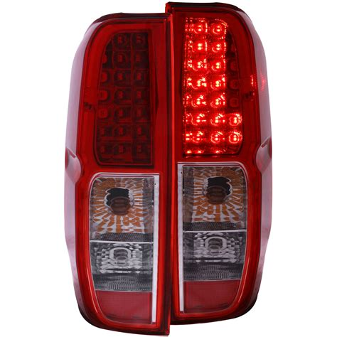 2014 nissan frontier tail lights anzo usa nissan frontier 05 13 l e d tail lights nissan