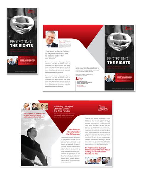 tri brochure template attorney at tri fold brochure template
