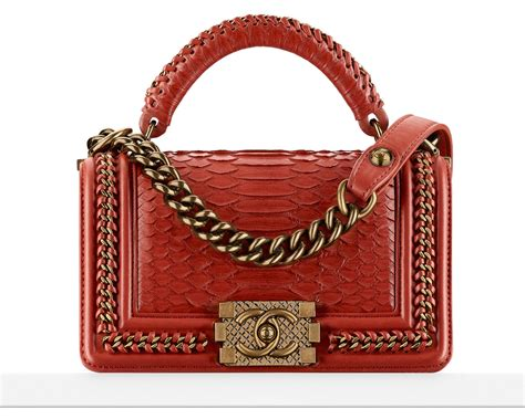 Think Metallic Bags Are Tacky Check Out The Betseyville 24k by A Look At The Chanel Boy Bag With Handle Purseblog
