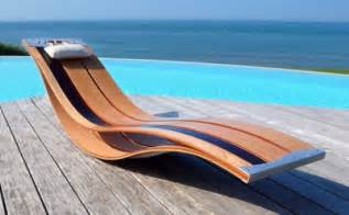 Lounge Pool Chairs Design Ideas 7 Ultra Moderne Lounge Sessel Designs Aus Holz F 252 R Den Au 223 Enbereich