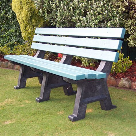 park seats benches kimberley recycled plastic park seat draffin