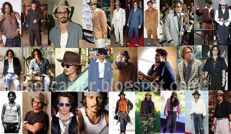 M K Takes Style Cues From Johnny Depp by The Fashioner Grungy Johnny Depp Style