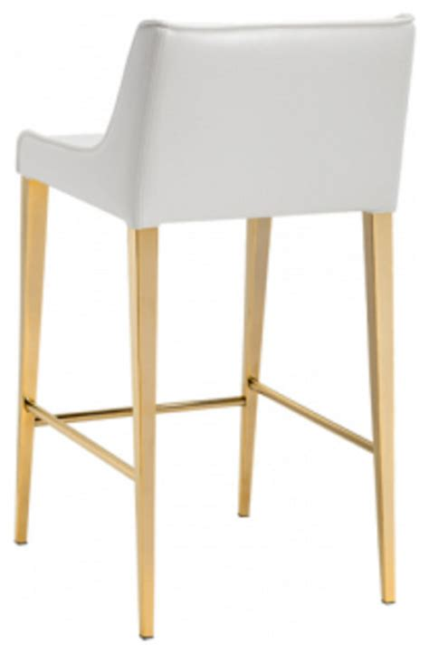 bar stools with gold legs artefac gold legs leather stool bar stools and counter