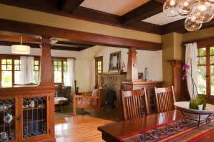 Craftsman Dining Room Bali Construction Craftsman Dining Room San Francisco By Bali Construction