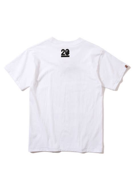 Kaos Bape A Bathing Ape 64 a bathing ape bape collage t shirt white