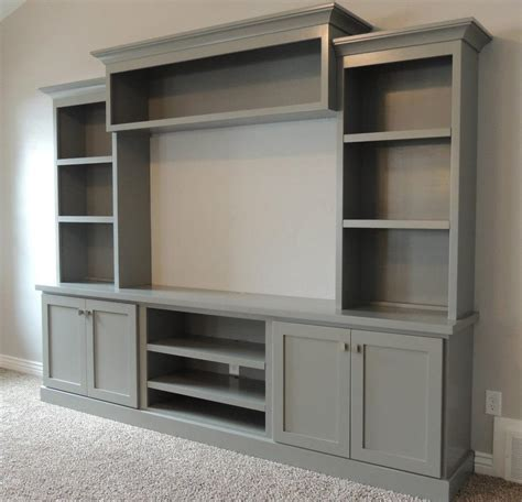 bloombety built in entertainment center with lcd tv family room with large painted entertainment center bing
