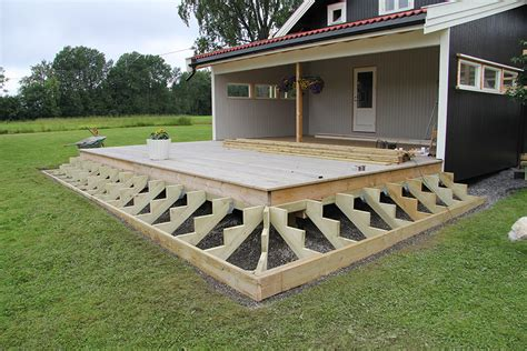 terrasse trapp vinkel bygge trapp terrasse kleskab skuffe