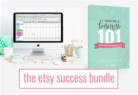 Etsy Business Plan Template the etsy success bundle etsy seller spreadsheet creative