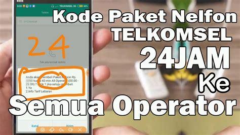 kode paket internet telkomsel gratis kode paket nelpon ke semua operator 24 jam all telkomsel