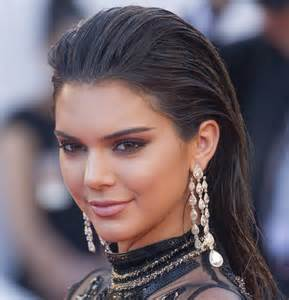Chandelier Diamond Earrings Kendall Jenner Flashes Underwear In Completely See Through