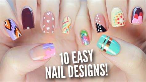 easy nail art pictorial pictures of nail art 10 easy nail art designs for