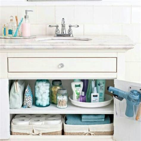 bathroom counter organization organize under that bathroom cabinet for the home