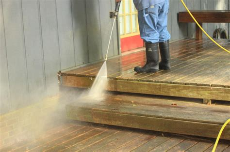pressure washing  deck hgtv