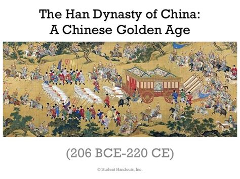 Golden Age Of China Essay by Han Dynasty