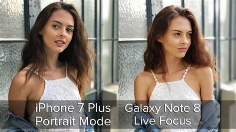 tested galaxy note 8 live focus vs iphone 7 plus portrait mode