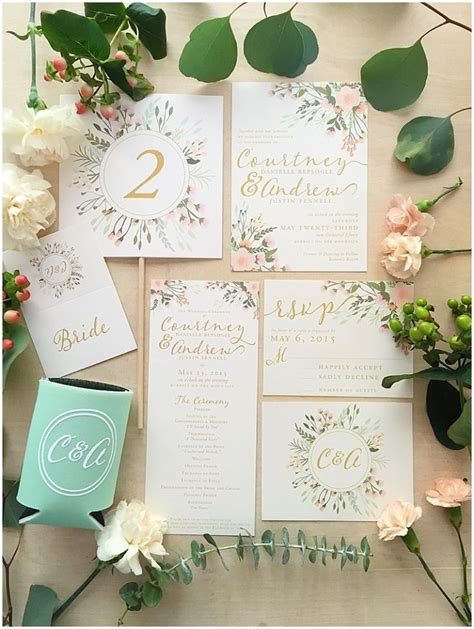 Blank Wedding Invites Pink Paper by 17 Best Ideas About Floral Wedding Invitations On