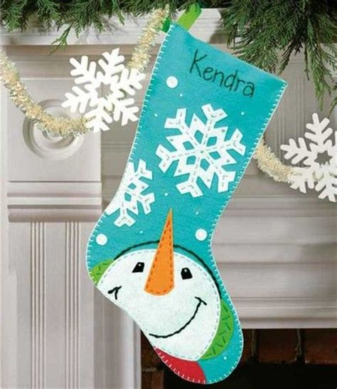 pattern for felt christmas stocking pinterest the world s catalog of ideas