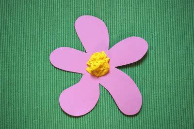 Basteln Mit Papier Blumen 3504 by Blumen Basteln Kinderspiele Welt De