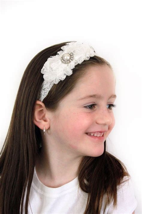 pink baby headband beautiful flower headband delicate 37 best images about my holy communion