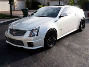Cadillac Cts V White Find Used 2013 Cadillac Cts V Coupe Pearl White 20 Inch