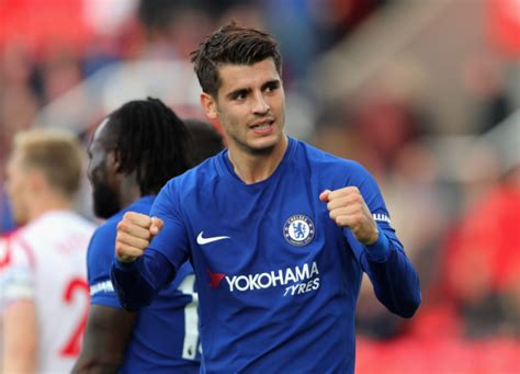chelsea morata n of the match alvaro morata hails cynical chelsea after