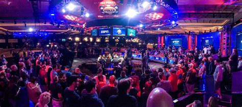 wsop event table 2017 table set at 2017 series of event