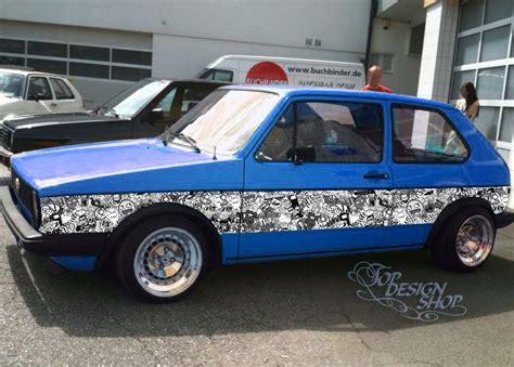 Folien Aufkleber Cars by Sticker Bomb Autofolie Car Wrapping 3d Design A Cars