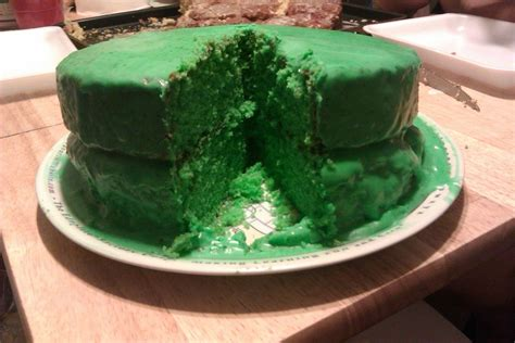 mountain dew cake  frosting   decorate  food