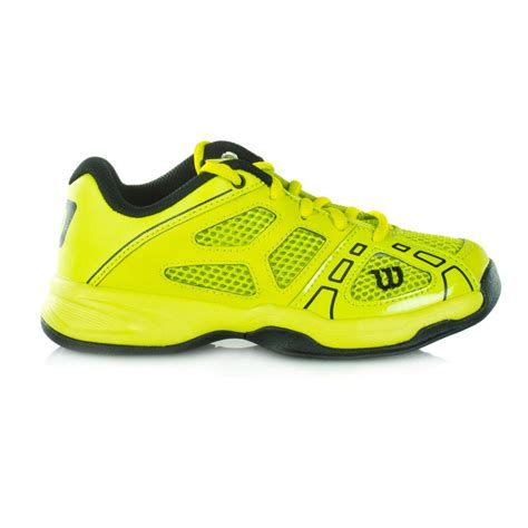 wilson shoes wilson pro tennis shoes lime black