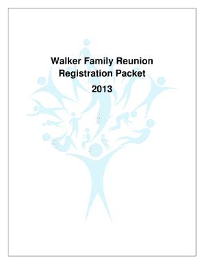 family reunion registration form template family reunion registration form fill printable