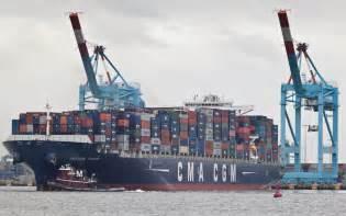 le porte conteneurs cma cgm figaro 224 vancouver mer et marine