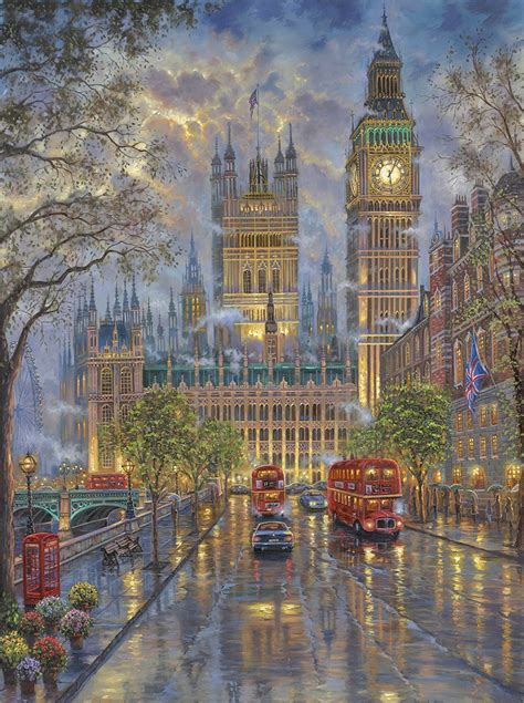 london  big ben inspirated  kinkade
