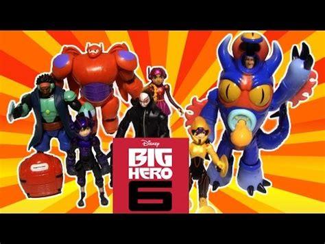 Bandai Disney Store Big 6 Gogo Tomago Honey Lemon review big 6 go go tomago doovi