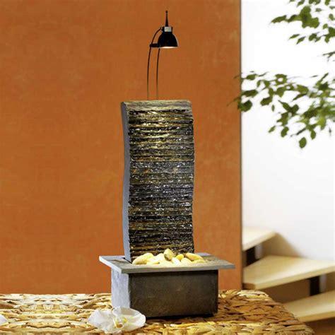 beleuchtung zimmerbrunnen zimmerbrunnen wasserfall mit beleuchtung kaito