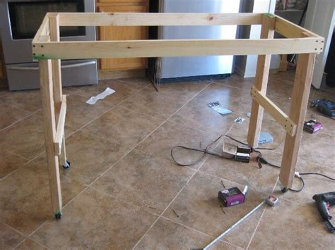 diy kitchen island table diy pallet island kitchen table 99 pallets