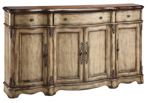 wood credenza antique wood top credenza from steinworld 57332